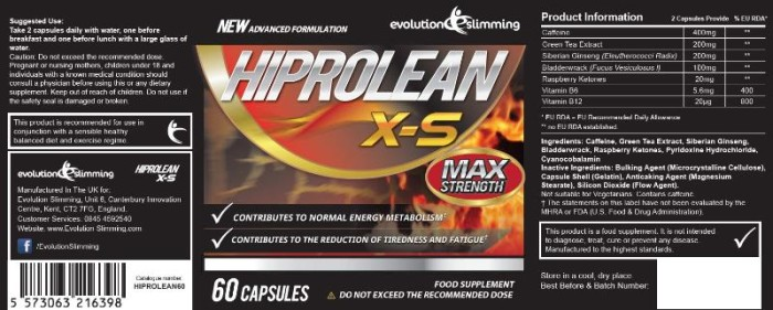 Buy Hiprolean X-S Fat Burner in Sigulda Latvia