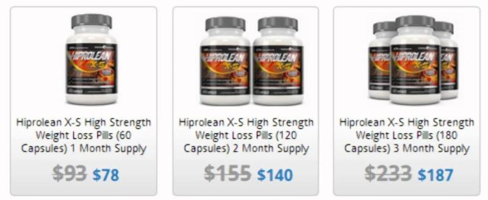 Buy Hiprolean X-S Fat Burner in North Carolina USA